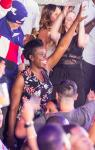 Ghostbusters Star Leslie Jones Spotted at Drai's Nightclub at The Cromwell in Las Vegas