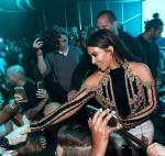 Kim Kardashian West hosts Hakkasan Las Vegas third anniversary at Hakkasan at MGM Grand on April 9, 2016 in Las Vegas