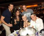 Holly Madison, Josh Strickland and friends at LAVO Saturday Brunch
