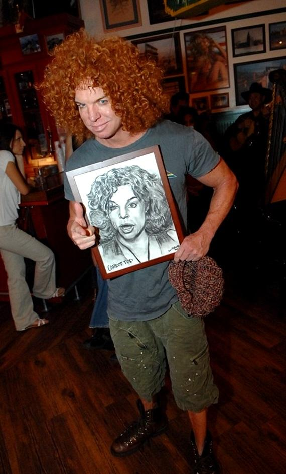 Jeff Marks, Scott Frost and Carrot Top at Hussong's Cantina