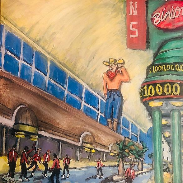 """July First Friday Features """"Rejuve"""" Theme with Cooling Areas, Featured Artist Byron Stout - Friday, July 5 in Downtown Las Vegas"""