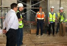 Vegas Construction Workers Briefed on Skin Safety and Cancer Prevention; Armed with Knowledge, Sunscreen