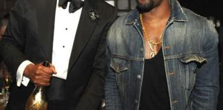 Jay Z and Kanye West at Marquee