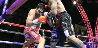 """Joey Ruelas vs JohBoxing action fills the air of Downtown Vegas! Presented by Roy Jones Jr. , """"Knockout Night at the D"""" returns to the Downtown Las Vegas Events Center across from the D Las Vegasn Vera at """"Knockout Night at the D Las Vegas"""