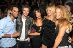 Josh Henderson (2nd from left) and friends
