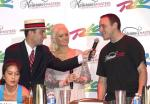 Juliet Lee, Mike Antolini, Holly Madison and Joey Chestnut