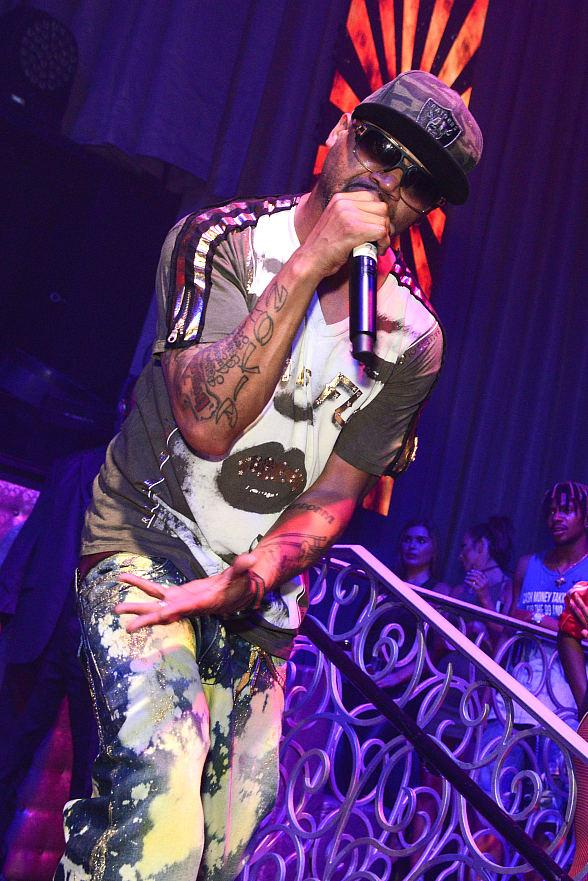 Juvenile Performs at LAX Nightclub as the Latest Artist Headlining the Venue's Acclaimed Throwback Thursday Series