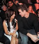 Kim Kardashian and Kris Humphries at Marquee Nightclub