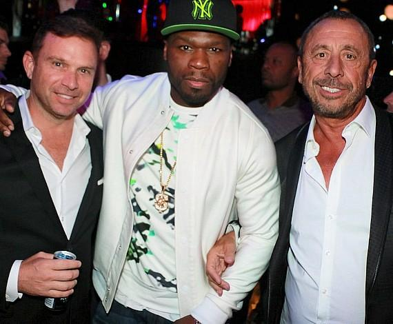 "50 Cent Rocks Las Vegas on Eve of ""Fight Of The Century"""