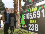 MGM Resorts International helps pass goal at KLUC Toy Drive