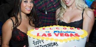 Mac Miller with Birthday Cake at TAO