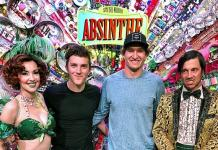 Vegas Golden Knights' Mark Stone and Peyton Krebs Attend ABSINTHE at Caesars Palace in Las Vegas