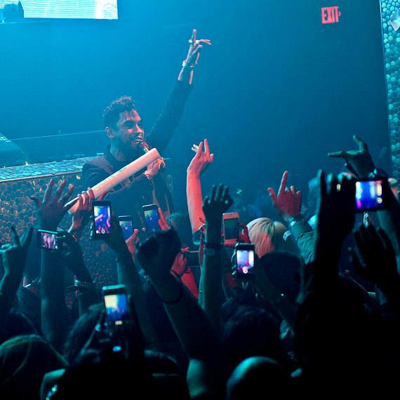 Grammy Award-Winning Singer Miguel Hosts TAO Nightclub