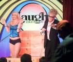 """Murray SawChuck performs the """"Surprise Crate Illusion"""" in 'MURRAY Celebrity Magician"""" at The Laugh Factory in Tropicana Las Vegas"""