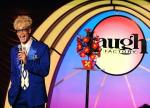 Murray SawChuck perfoming at The Laugh Factory in he Tropicana Las Vegas