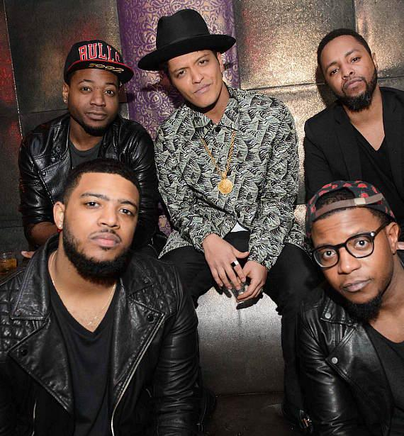 Fetty Wap and Bruno Mars perform at Marquee Nightclub in The Cosmopolitan of Las Vegas on New Year's Eve