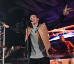 Nick Jonas performs 'Levels' at Foxtail Nightclub