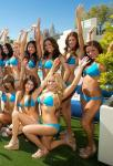 Cocktail servers at WET REPUBLIC