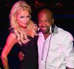 Paris Hilton and Jermaine Dupri at Tryst Nightclub