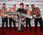 """Perez Hilton """"Censored"""" with Chippendales"""