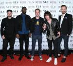 Plain White T's walk the red carpet at SLS Las Vegas