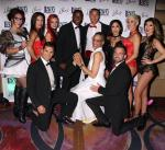 """Carla Hall, Celebrity Chef and Co-host of """"The Chew"""" Celebrates Her Husband's 50th Birthday at the Sexy Co-Ed Cabaret – 53X at Paris Las Vegas"""