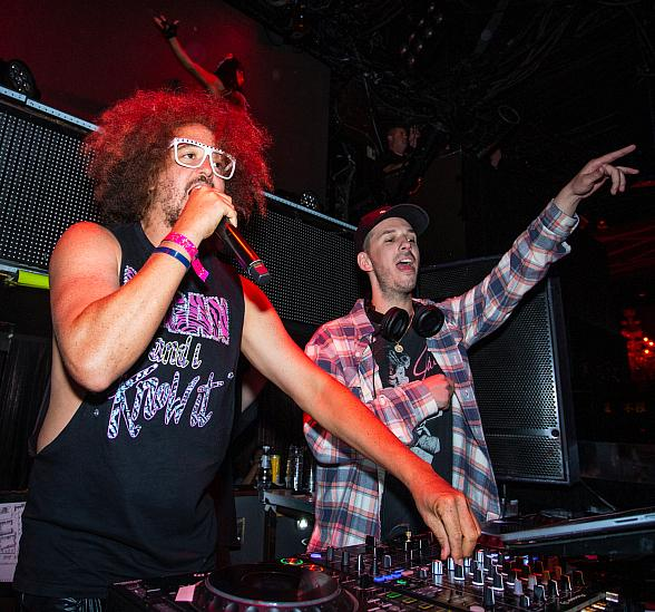 Redfoo Spotted at TAO; Anthony Mackie at Beauty & Essex Saturday