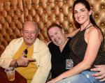 Robin Leach and friends at Vince Neil's Tatuado Eat-Drink-Party! at Circus Circus