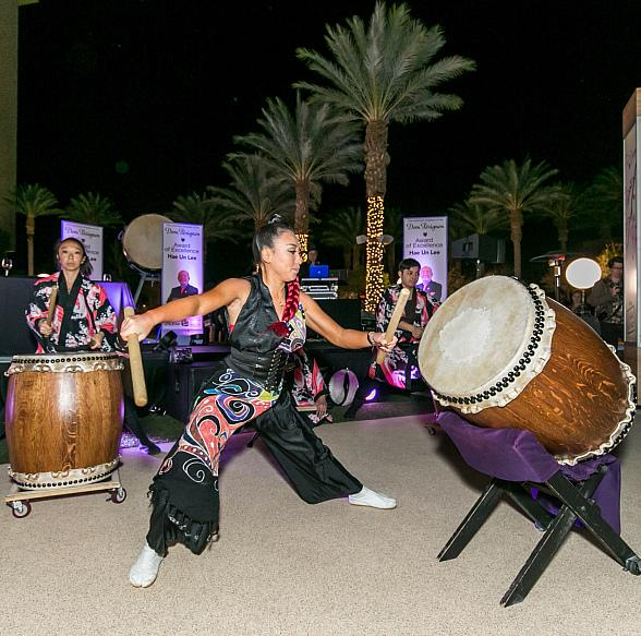 Night Two of the 45th Annual UNLVino Took Place Under the Stars With Sake Fever at Red Rock Casino Resort & Spa's Pool