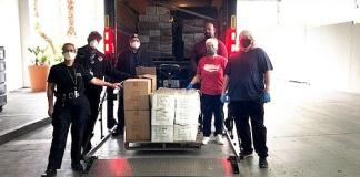 Sahara Las Vegas Donates Much-Needed Supplies to the COVID-19 Support Facility at Cashman Center