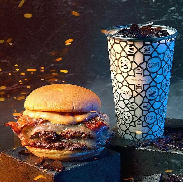 Bend the Knee. Game of Thrones Lands at Shake Shack