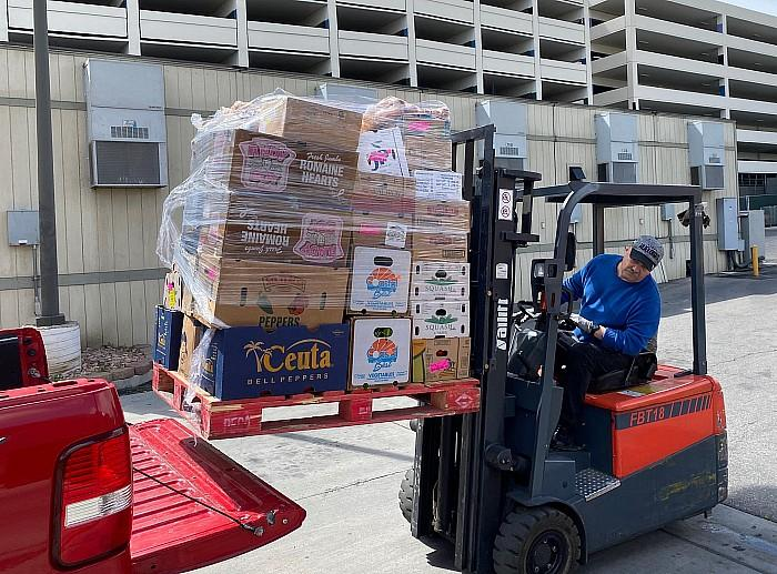 Golden Entertainment, Inc. Donates Perishable Food to Casa de Luz, Food for Families