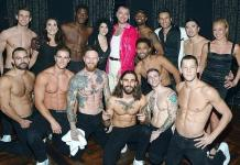 "Sam Smith Attends ""Magic Mike Live"" at Hard Rock Hotel & Casino"