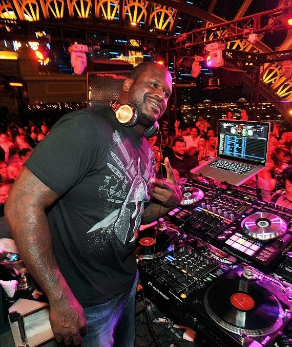 Shaquille O'Neal Makes Official Debut as DJ Diesel at Chateau Nightclub & Rooftop in Las Vegas