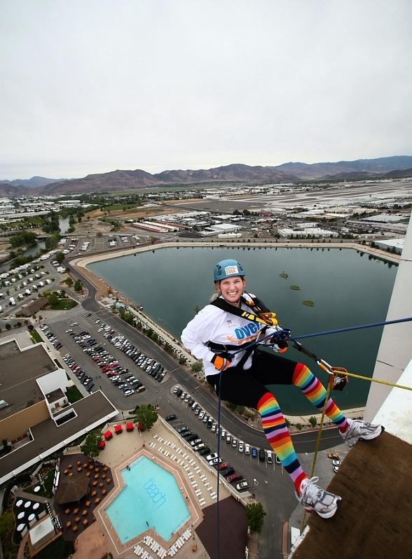 Thrill-Seekers Wanted to Rappel from the Roof of Planet Hollywood; Event to Benefit Special Olympics