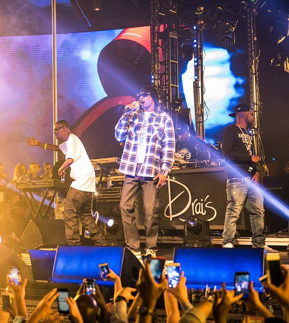 Snoop Dogg Makes an Unforgettable Drai's LIVE Debut at Drai's Nightclub