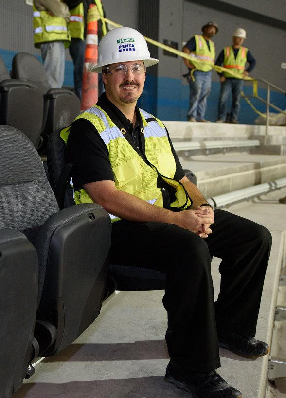 """T-Mobile Arena """"Unfolds"""" First Seats Beginning Venue's Seat Installation"""