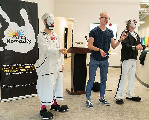 """Cirque du Soleil Launches First U.S. Site for """"Arts Nomades"""" in Las Vegas"""