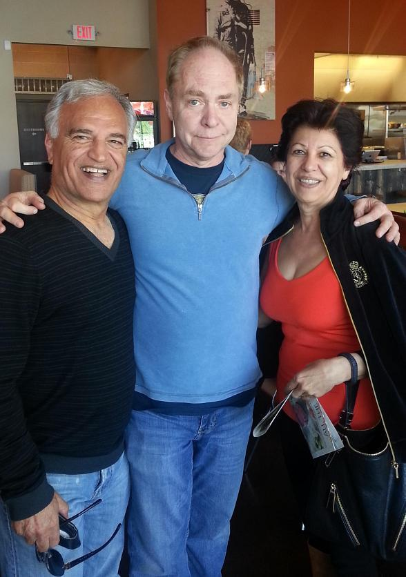 Legendary Magician Teller Dines at MTO Cafe in Downtown Las Vegas