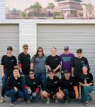 Wynn Las Vegas employees help clean and prepare The Animal Foundation care facilities to open to the public, Saturday, Oct. 27