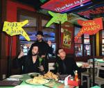 The Australian Bee Gees With Signs at Senor Frog's Las Vegas