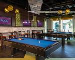 The REQ Room at Influence, the Pool at The LINQ Hotel + Experience