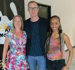 Three teaching artists handpicked by Cirque du Soleil and The Public Education Founation for Arts Nomades in Vegas