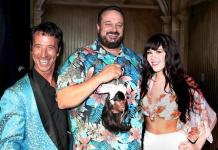 """Playboy Playmate Claire Sinclair and Comedian Monti Rock III Help The Golden Tiki Celebrates 2 Year """"Terrible Twos"""" Anniversary"""
