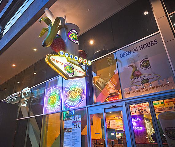 Tropical Smoothie Cafe at 3717 Las Vegas Blvd. South