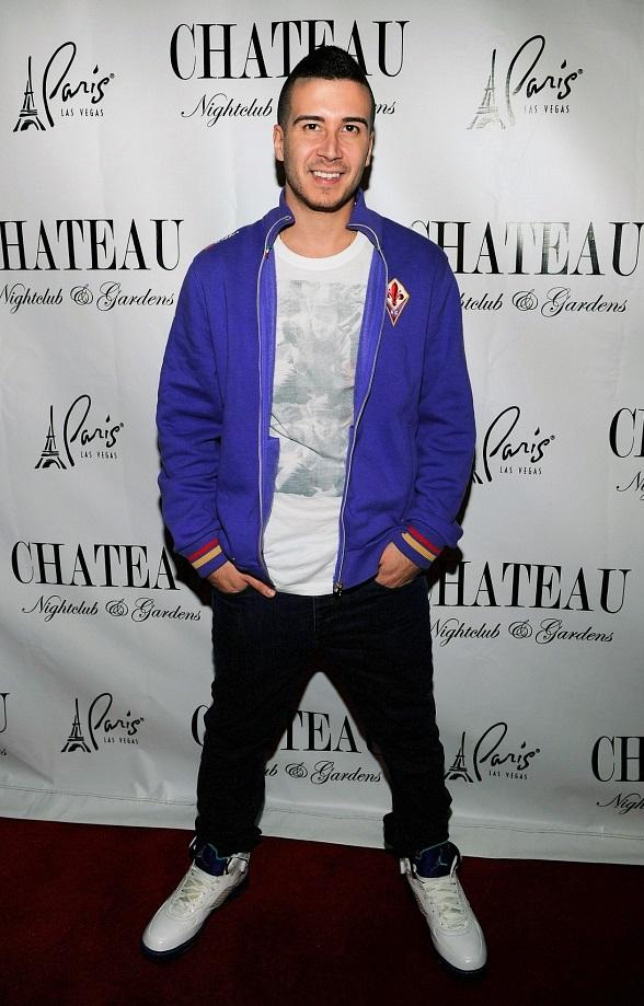 Vinny on Red Carpet at Chateau Nightclub