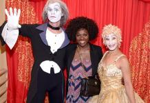 Viola Davis, Jason Dohring and James Maslow Visit Cirque du Soleil Shows
