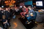 "Wayne ""Big D"" Danielson hosts Q&A session with Alex Tuch at Hyde Lounge at T-Mobile Arena"