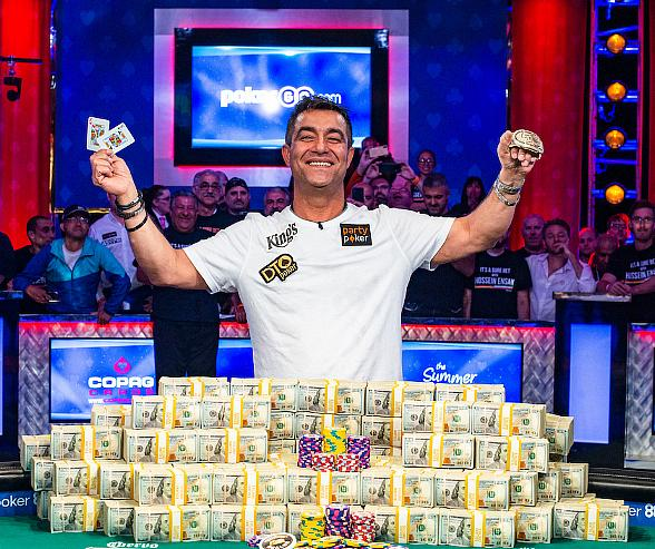 Germany's Hossein Ensan Wins World Series of Poker Main Event; 55-Year-Old Wins $10,000,000 and First Wsop Gold Bracelet at Rio Las Vegas