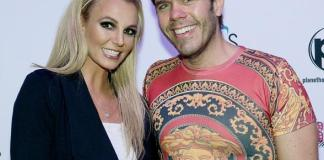 """Perez Hilton visits Britney Spears at """"Britney: Piece of Me"""" at Planet Hollywood Resort & Casino"""